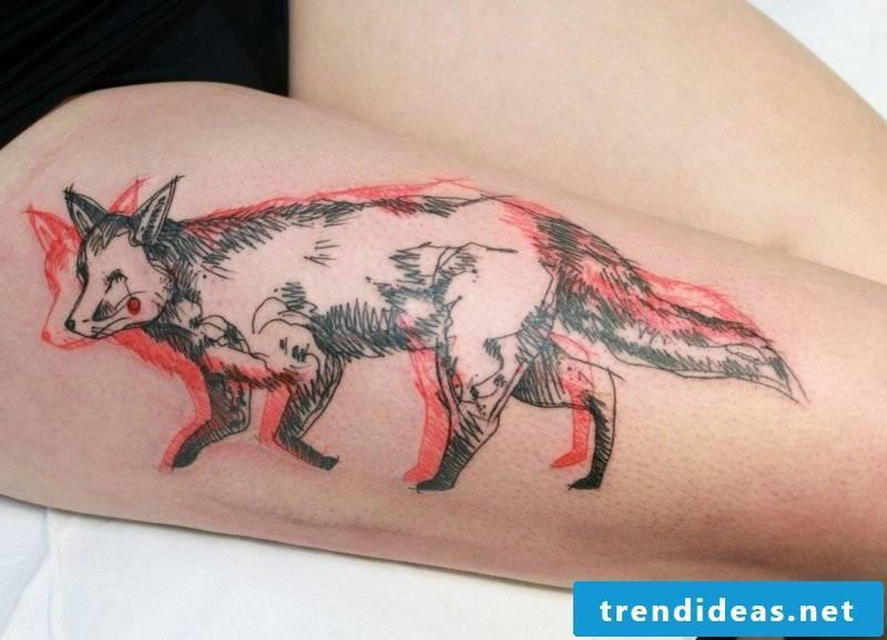 Fox Tattoo Spirit