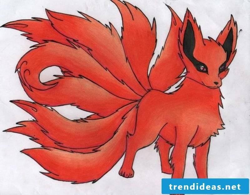 Japanese fox tattoo