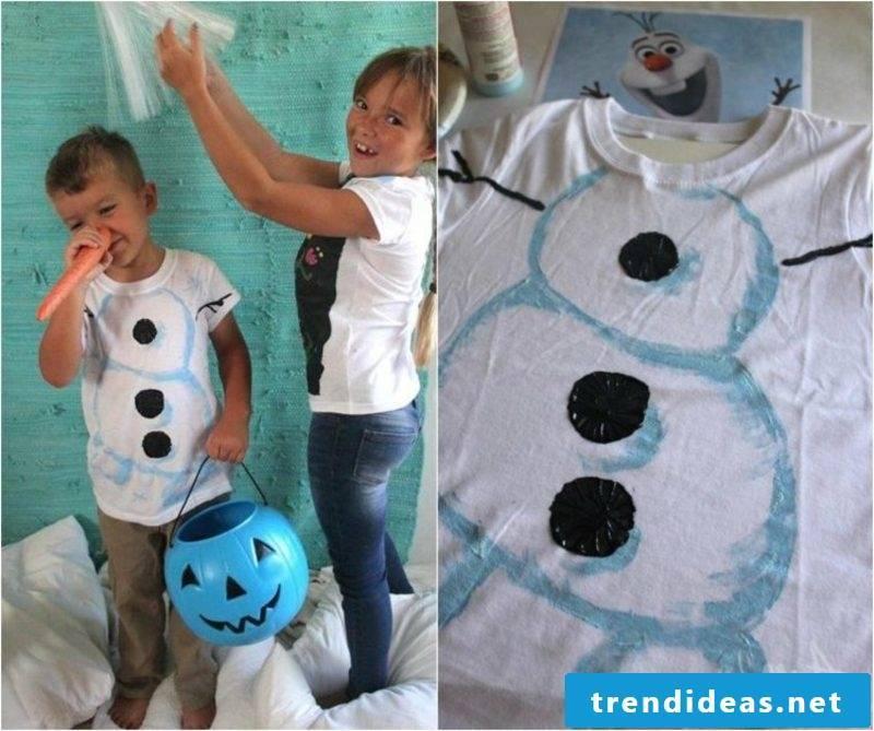 T-shirts self-print original ideas children