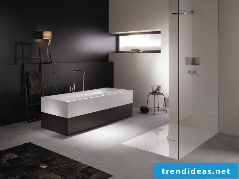 Badgetsaltung ideas in black and white give a noble look