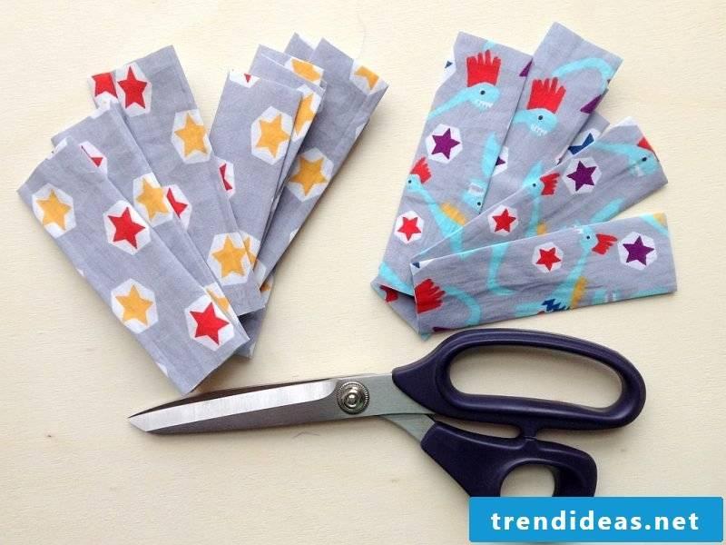 Curtain sew loop