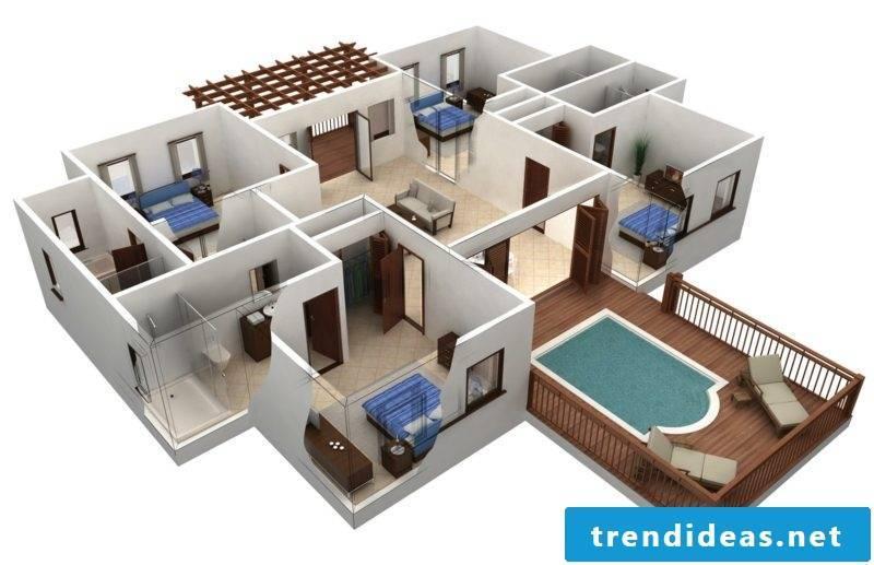 3d room designer creative design