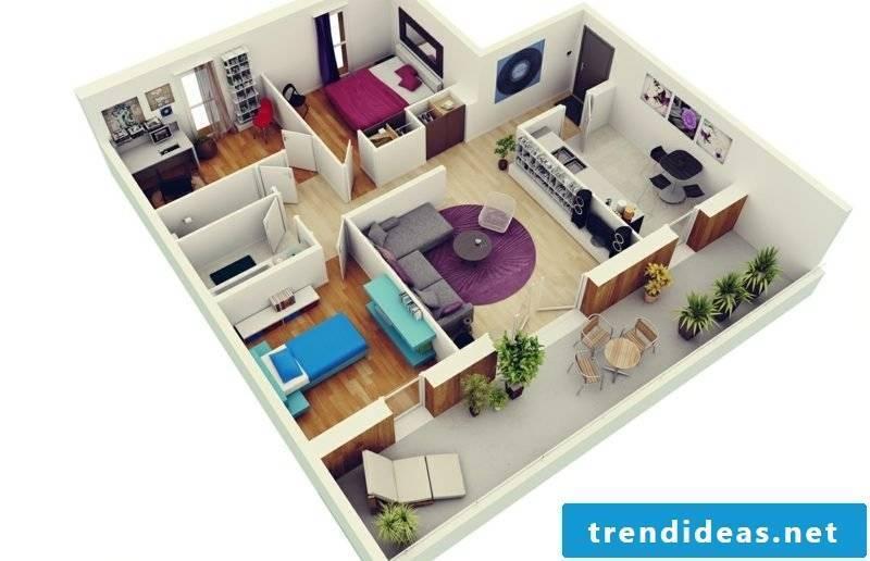 3d room planner bedroom apartment plans
