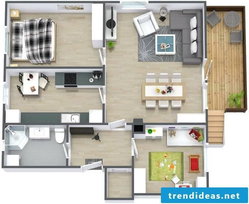 3d room planner 3d flat