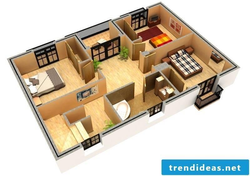3d room planner apartment frame