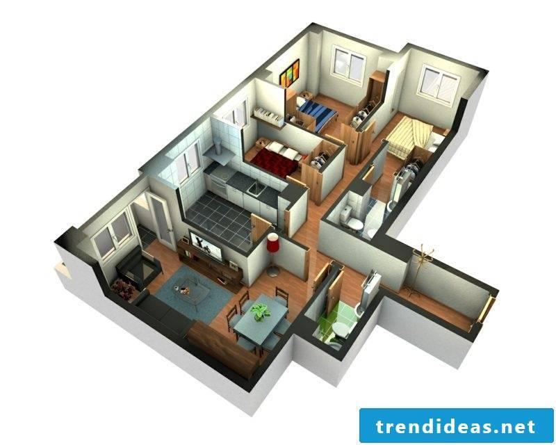 3d room planner apartment designer