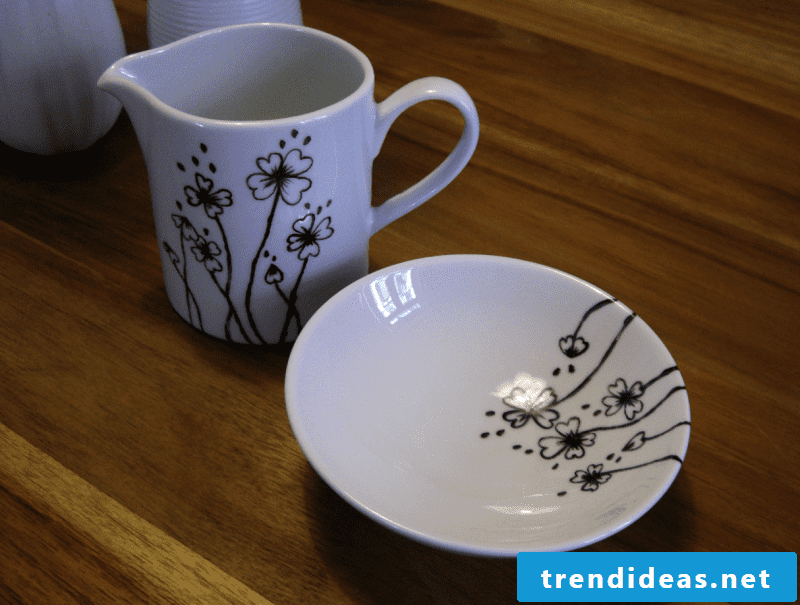 Paint DIY porcelain