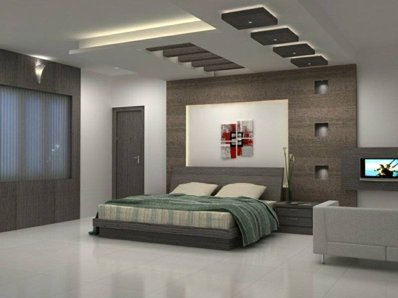 Ceiling covering bedroom