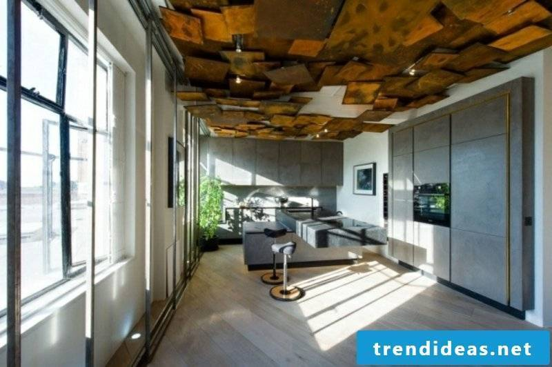 Ceiling covering decorative panels