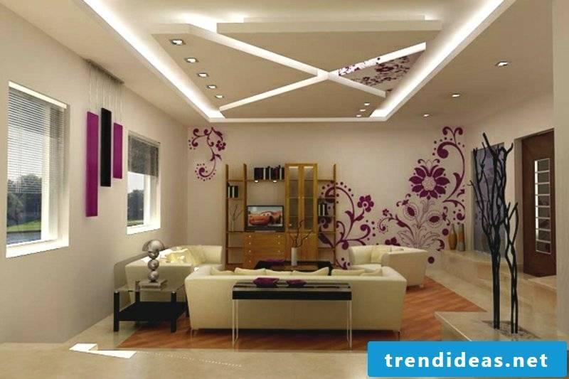 LED lighting living room