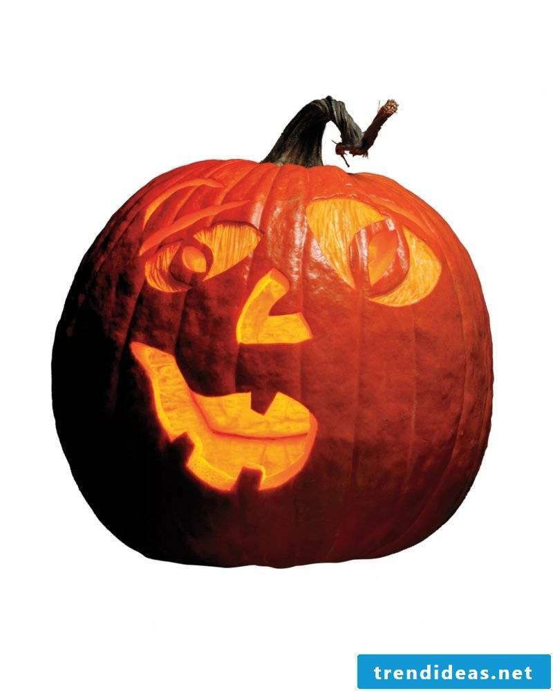 Pumpkin Templates are with funny faces too