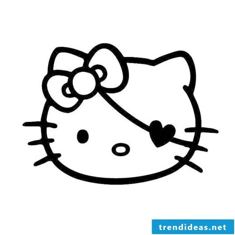 Pumpkin Templates with Hello Kitty