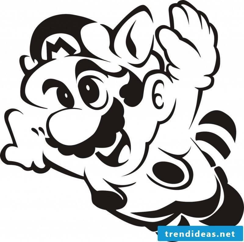 Pumpkin Templates Super Mario