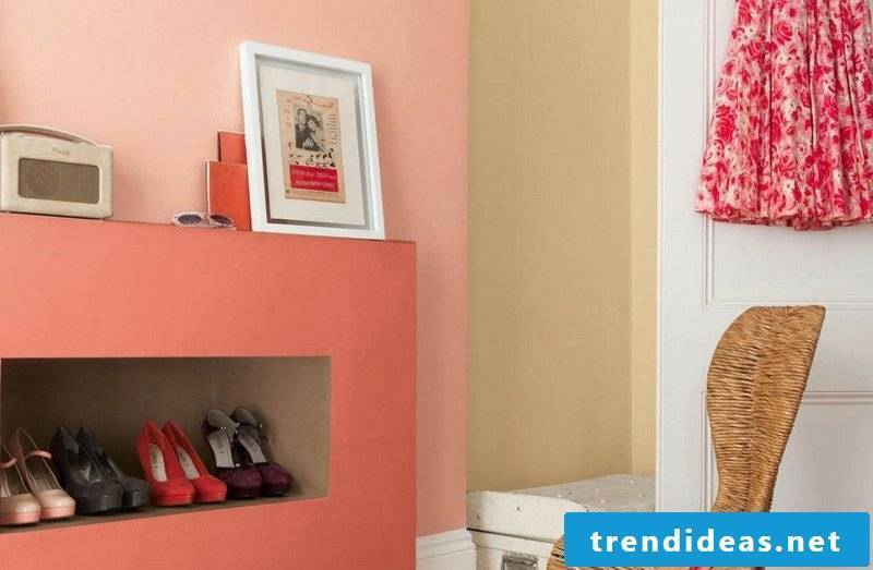 Wall painting ideas berry colors pastel shades