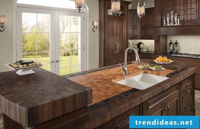 Kitchen plates for kitchen island
