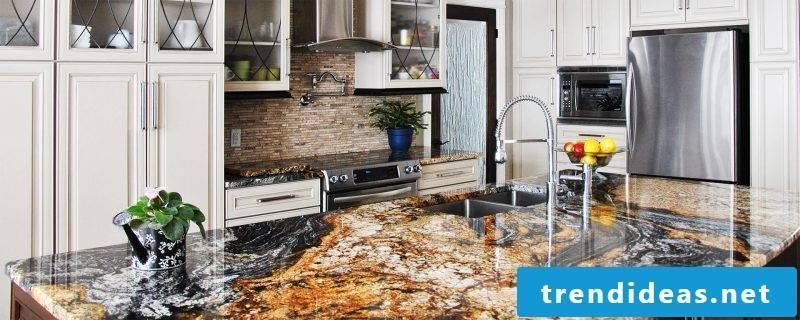 Kitchen tops natural stone