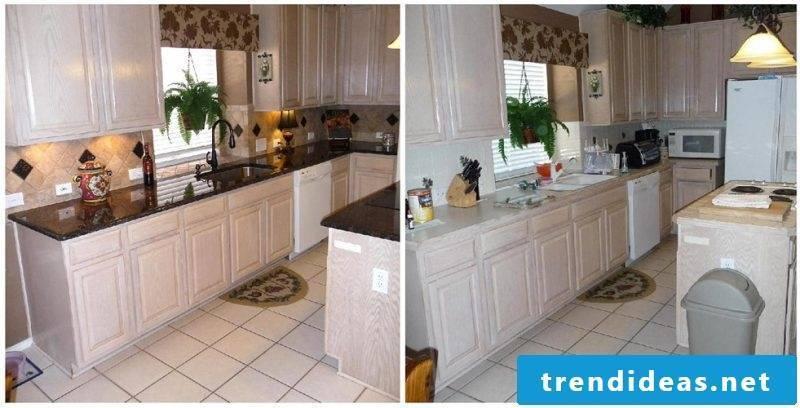 Kitchen panels renovation
