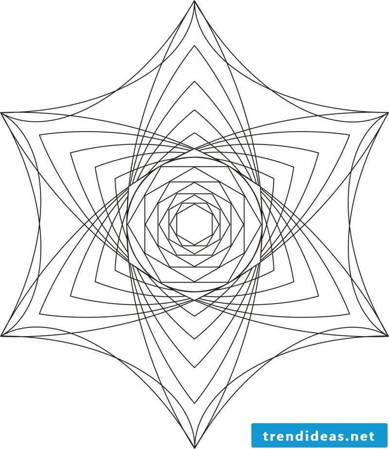 mandala templates mind