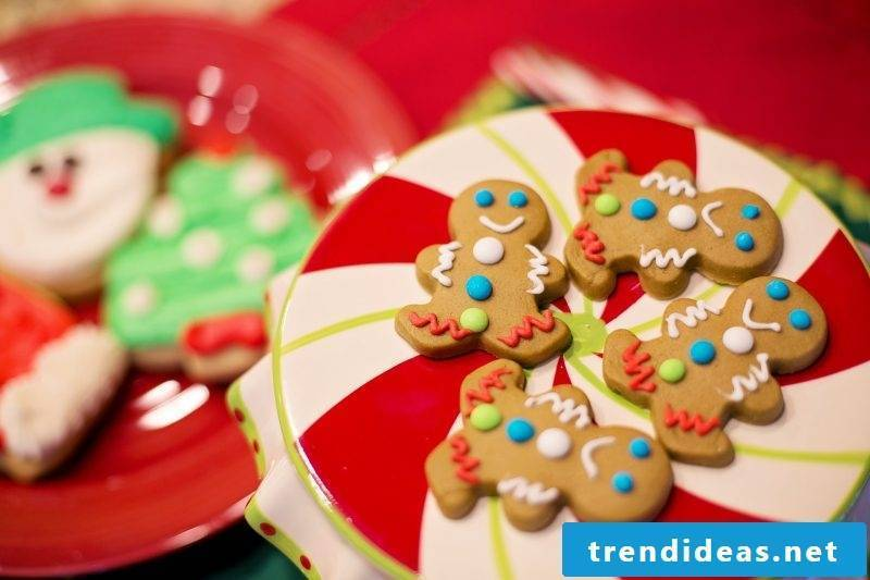 St. Nicholas gifts gingerbread