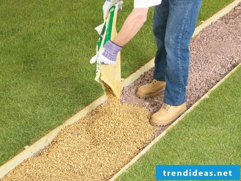 Create gravel garden - instructions step 6