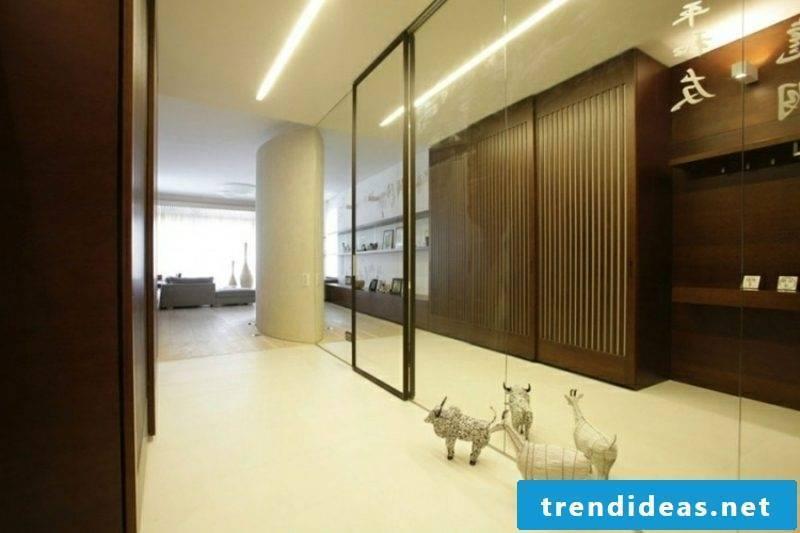 Hallway indirect LED lighting