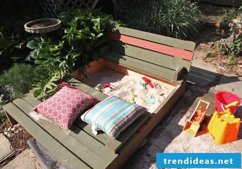 Sandbox build bench
