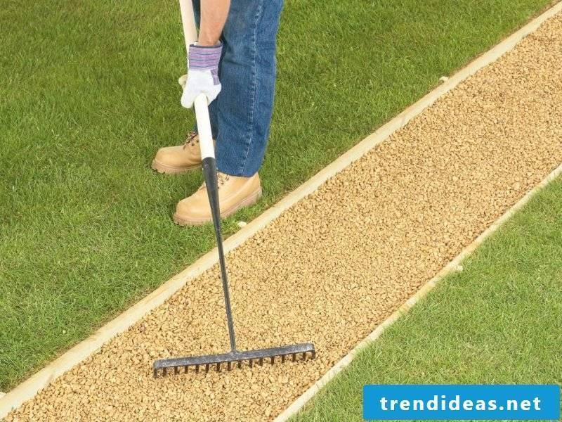 Create gravel garden - instructions step 7
