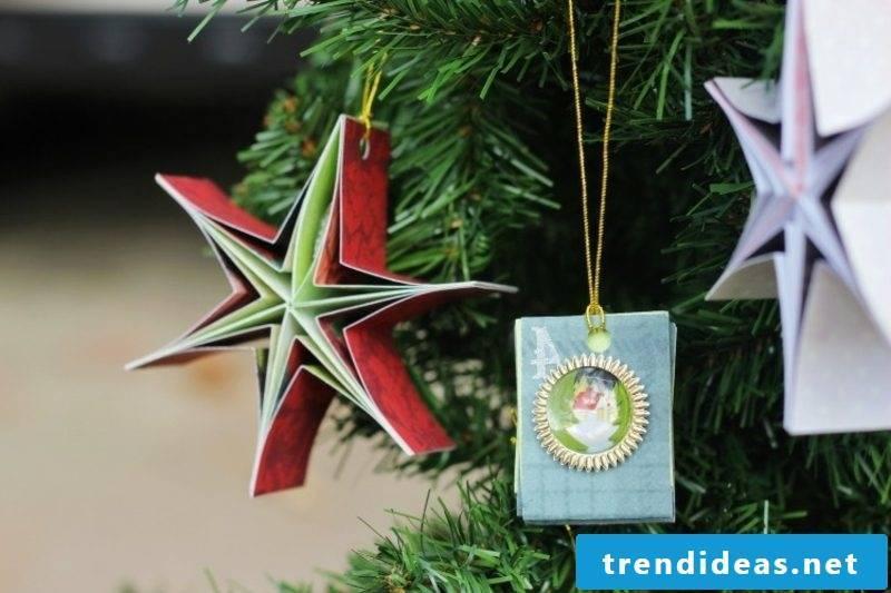 Make Christmas star yourself