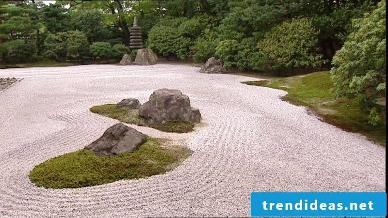 Landscaping Zen garden