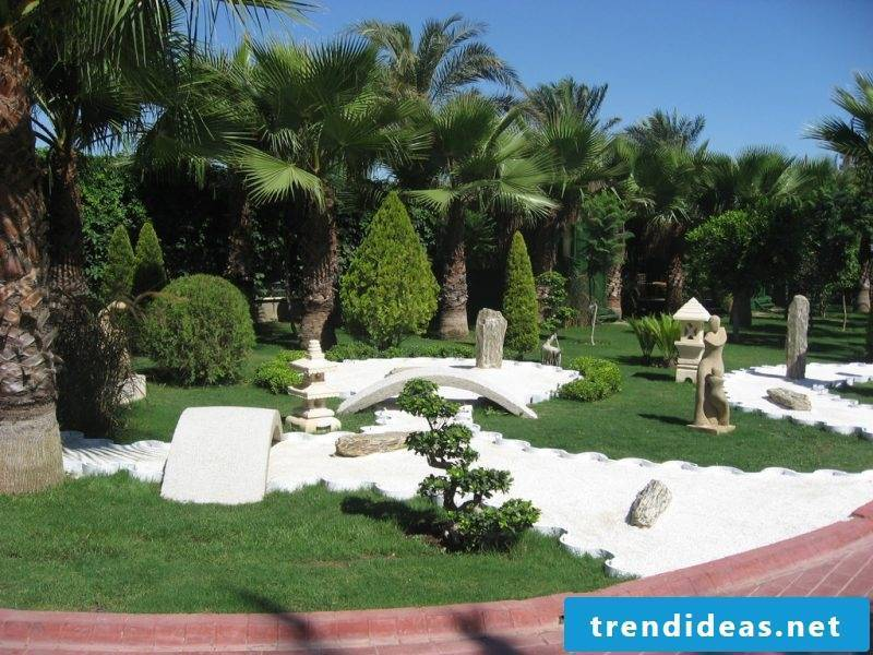 modern Zen garden