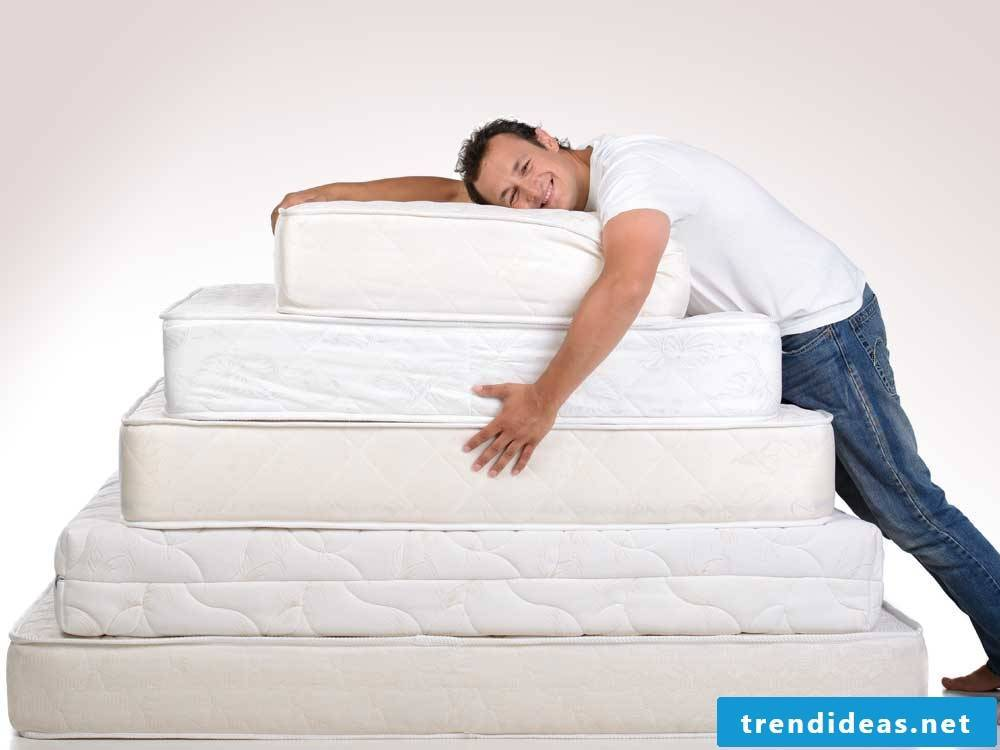 Tip №1: Know all mattress types and their advantages and disadvantages.