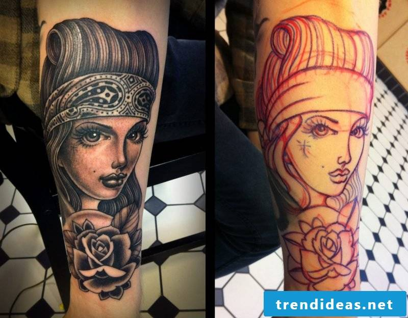 Tattoos of Dimitry Samohin