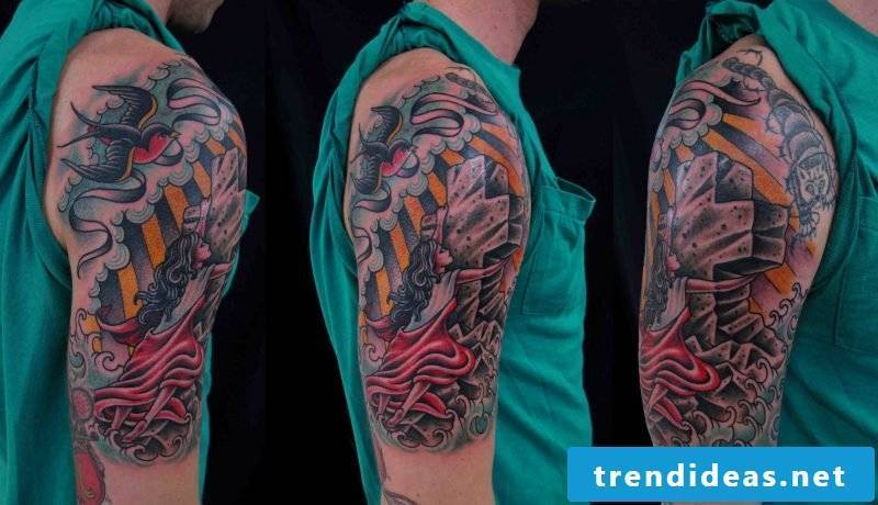 Tattoos of Hanky ​​Panky