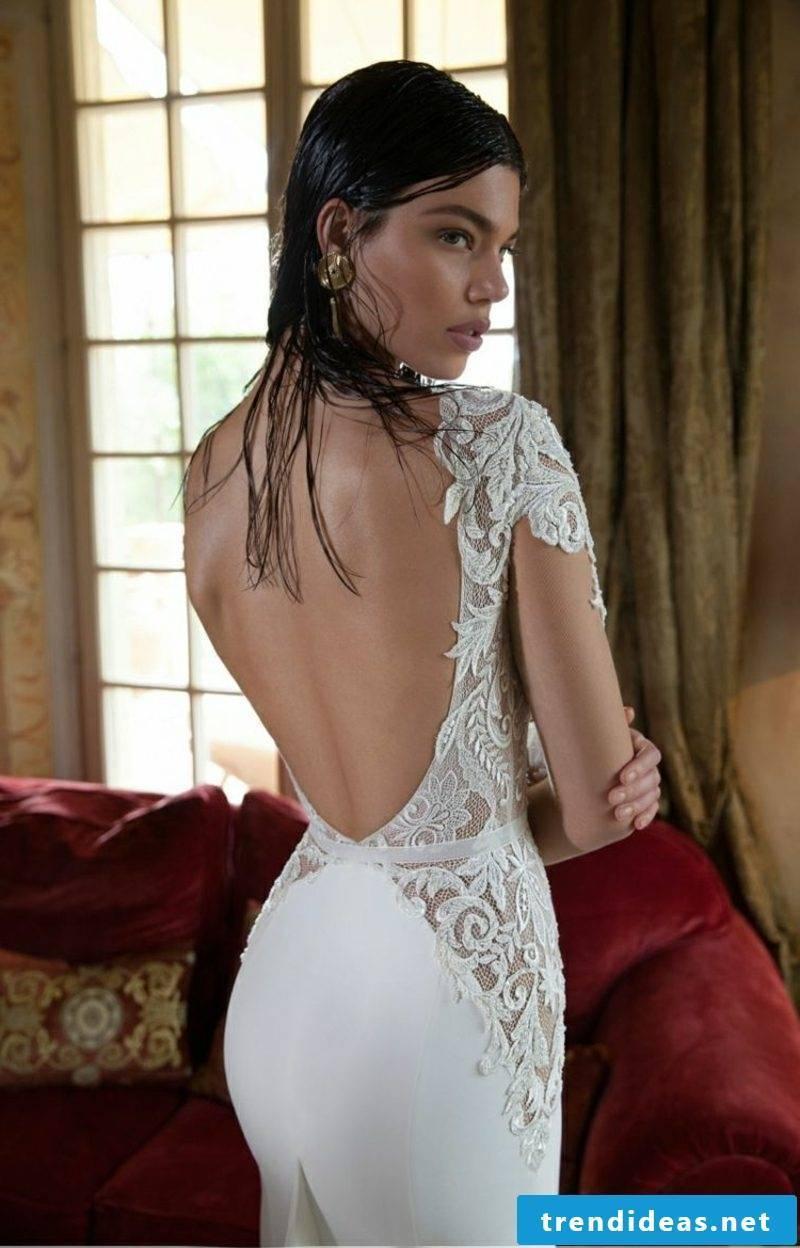 breathtaking wedding dress backless