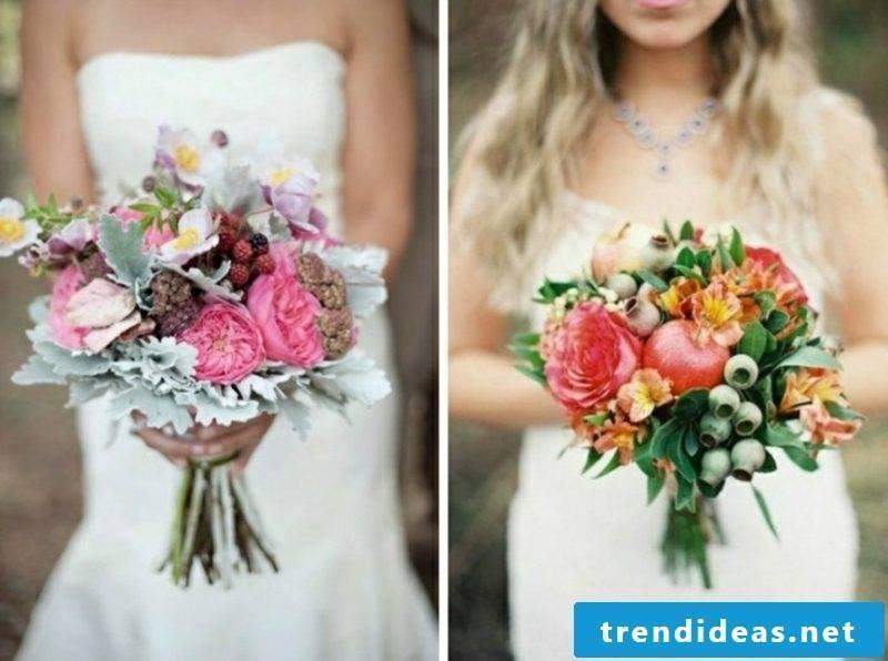 fancy bridal bouquet