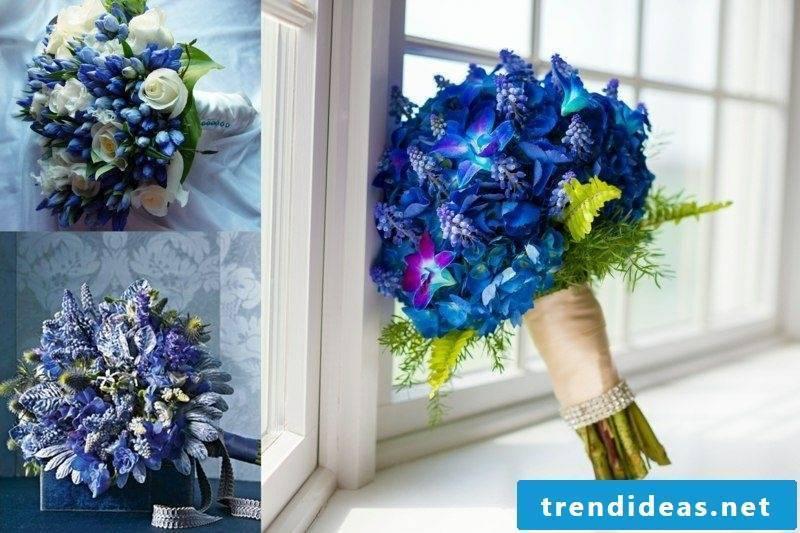 Bridal bouquet of creative ideas