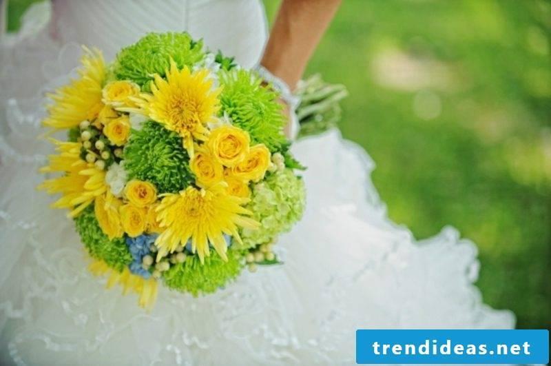 Bridal bouquet Summer wedding