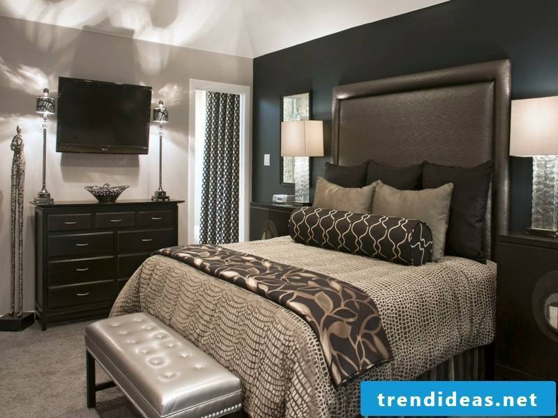 designer brownish luxury bed linen