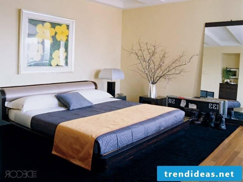 beautiful blue luxury bed linen