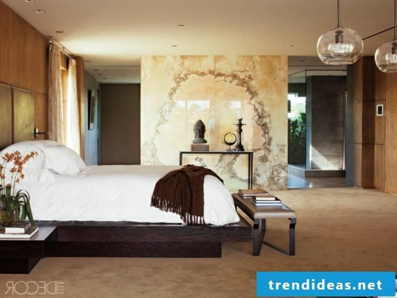 designer white-brown luxury bed linen