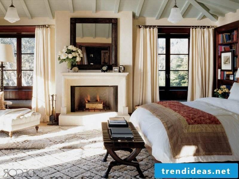 luxury bed linen in the living room