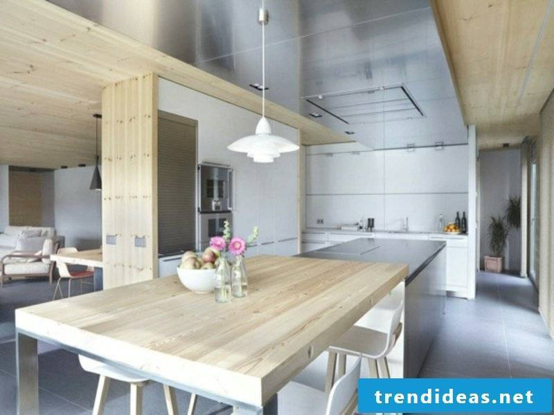modern kitchen island and ch