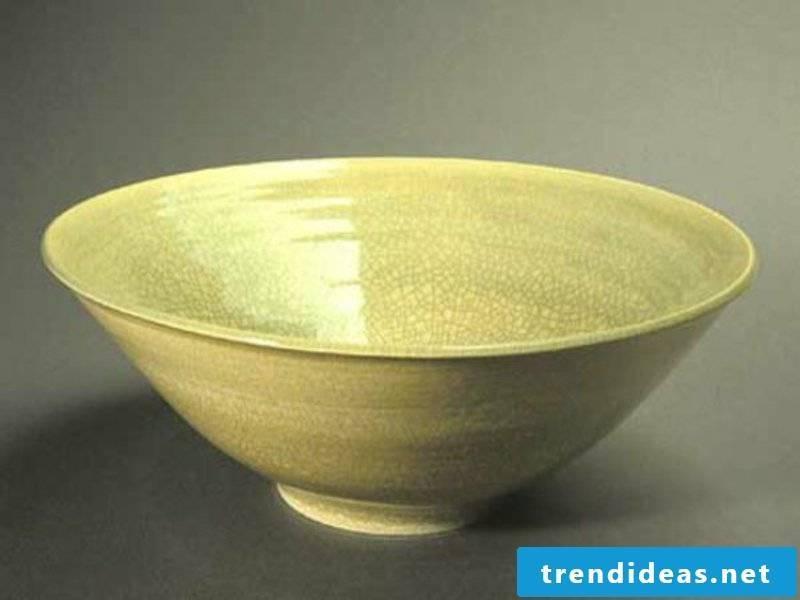 painted fruit bowl