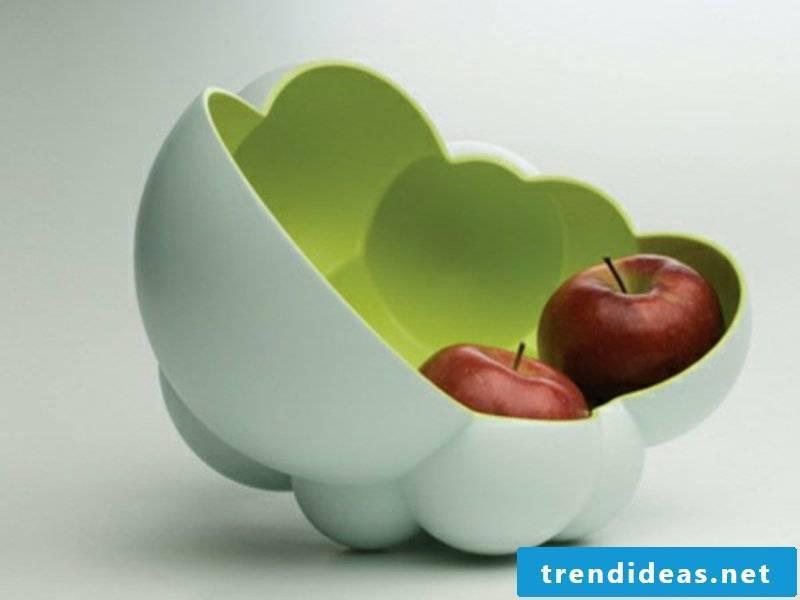 extravagant fruit bowl for apples