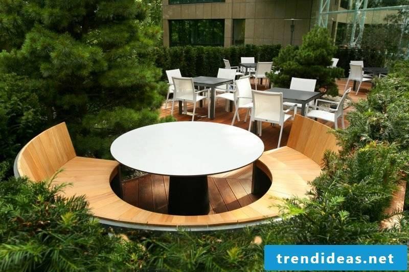 Modern design garden furniture