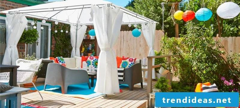 Design garden furniture: space for everyone in the outdoor area