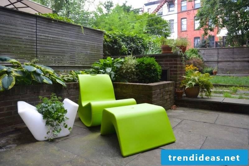 Design garden furniture: extraordinary furniture