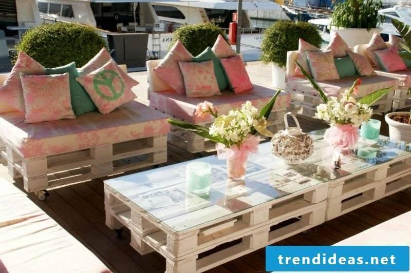 massive garden table