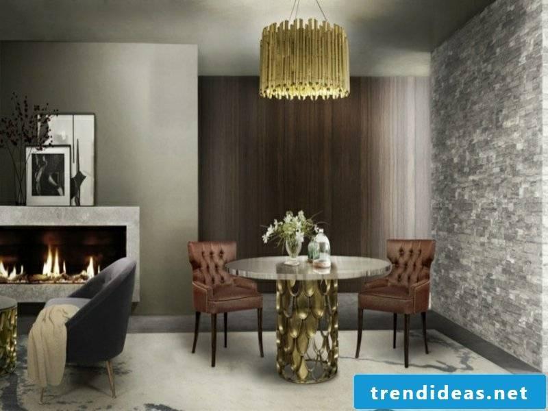 modern yellow hanging lamp
