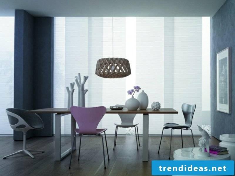 designer eye-catching dining room lamp